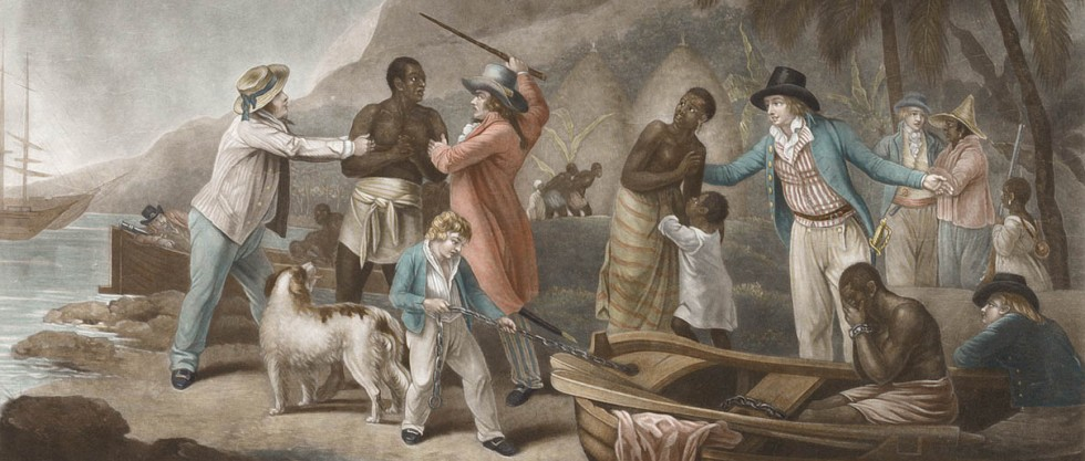 thesis on slavery in colonial america